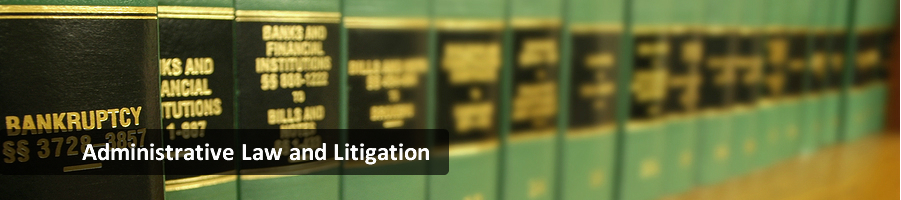 Administrative Law and Litigation